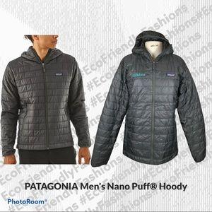 PATAGONIA Men's Nano Puff Hoody Black Medium